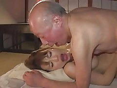 Old and Young hot tube - japanese tube
